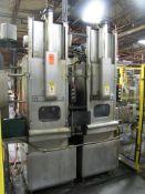 Dual Station Thru-Feed Parts Washer