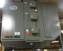 UAS Model SG-6 RL Smog-Hog Mist & Fume Collector, 10-HP
