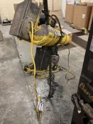 Budgit 2 Ton Chain Hoist with Power Trolley