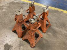 Lot of (4) K-Tool International 3 Ton Jack Stands, P/N: KTI-61203