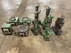 Lot of (5) Federal Gage Block Comparators with Controls