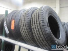 Lot of (4) tires, (2) LT 245/75 R16-120/1160, and (2) LT 245/75R16-120/1165