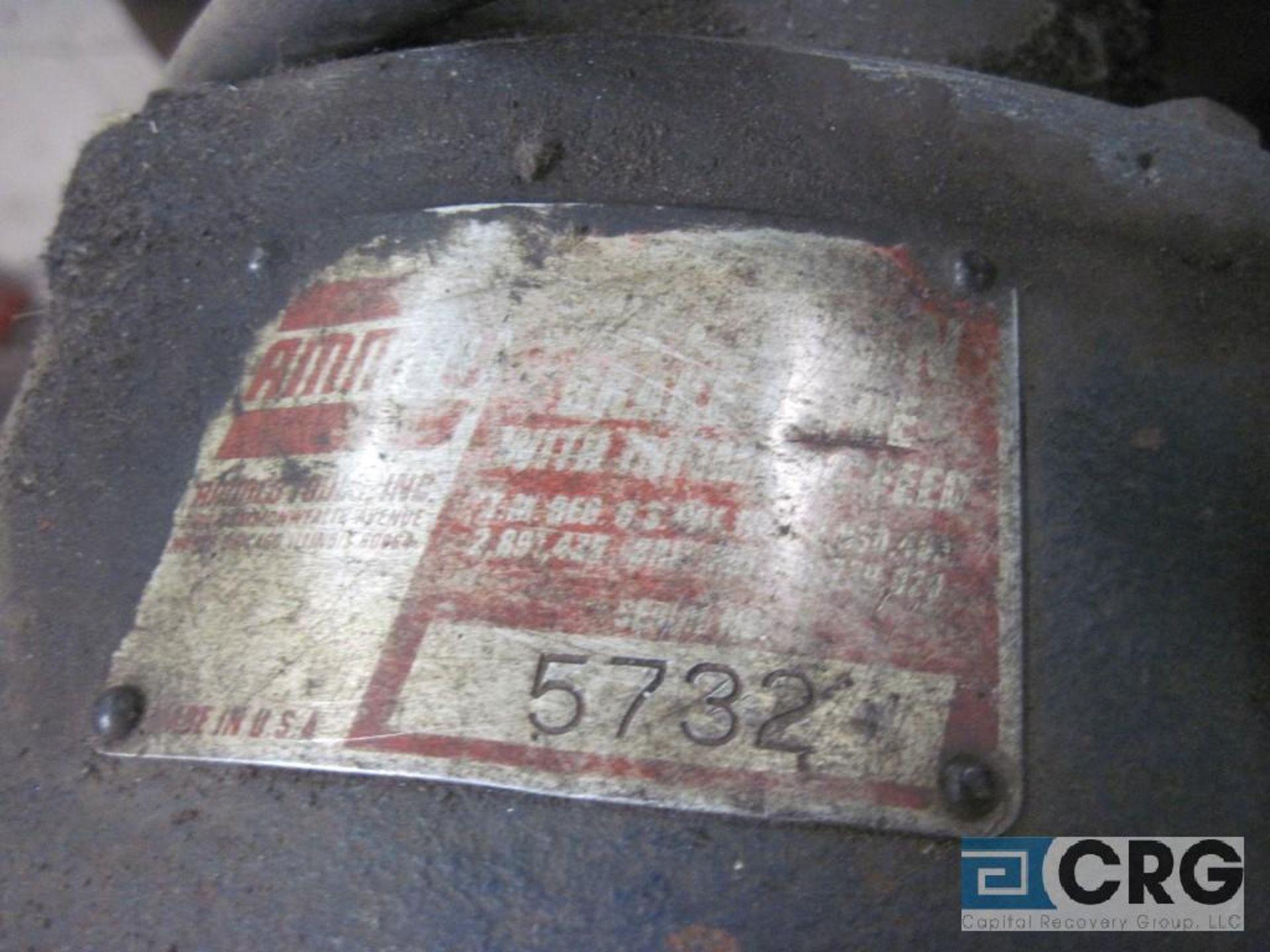Ammco brake lathe w/Ammco 7750 disk brake facing mechanism, twin face tool w/all brake lathe - Image 4 of 4