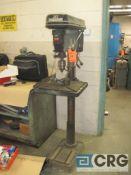 """Jet JDP 20MF pedestal drill press, 20 1/2"""" swing, 1""""cap., s/n 5080677"""