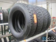 Lot of (4) Goodyear tires, 22.5/70R19.5 (NEW)