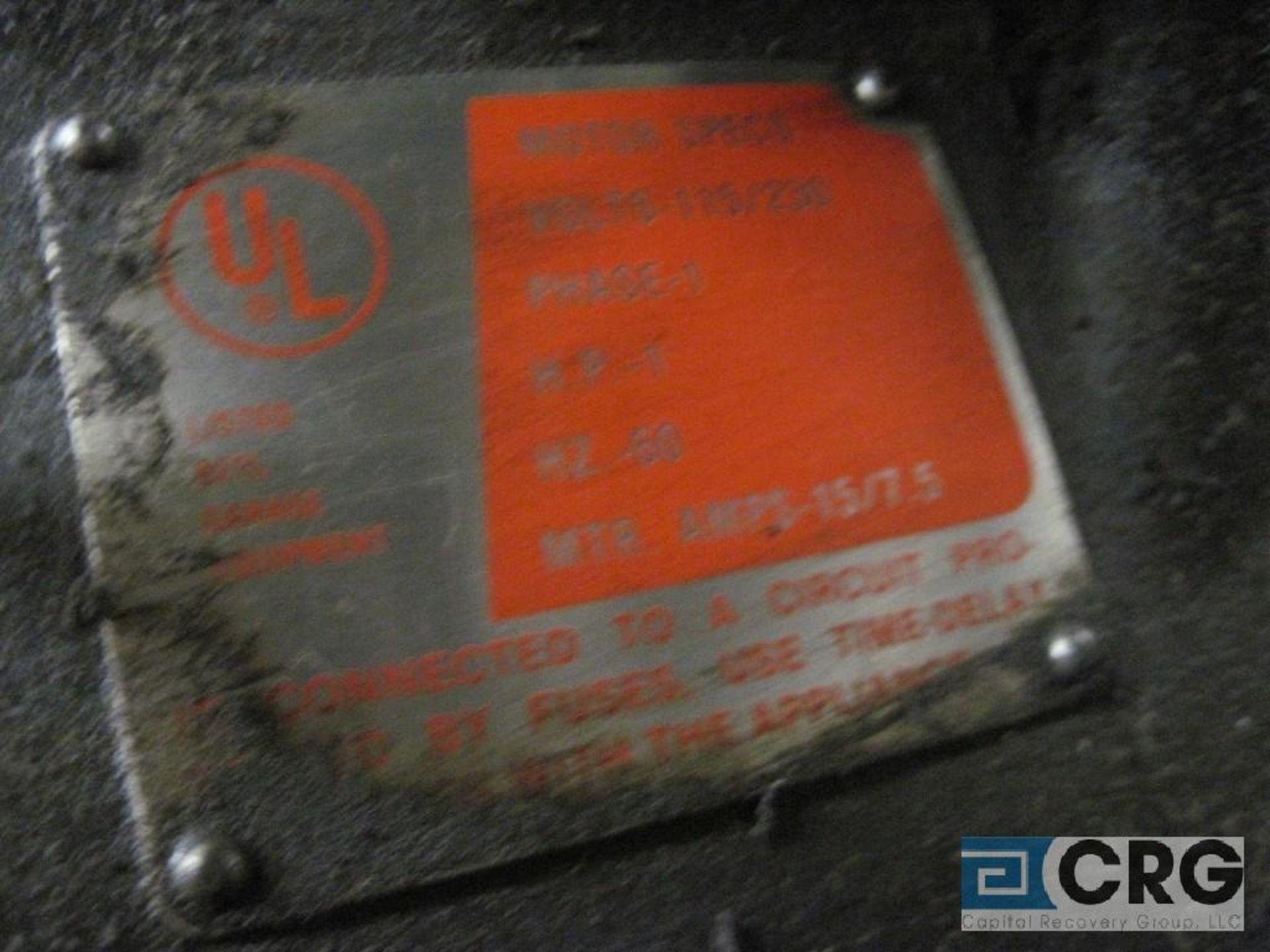 Ammco brake lathe w/Ammco 7750 disk brake facing mechanism, twin face tool w/all brake lathe - Image 3 of 4