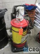 Lot of (2) Lincoln pneumatic grease pumps