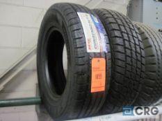 Lot of (2) Zeta LT 225/75 R16 115/112 S tires (NEW)