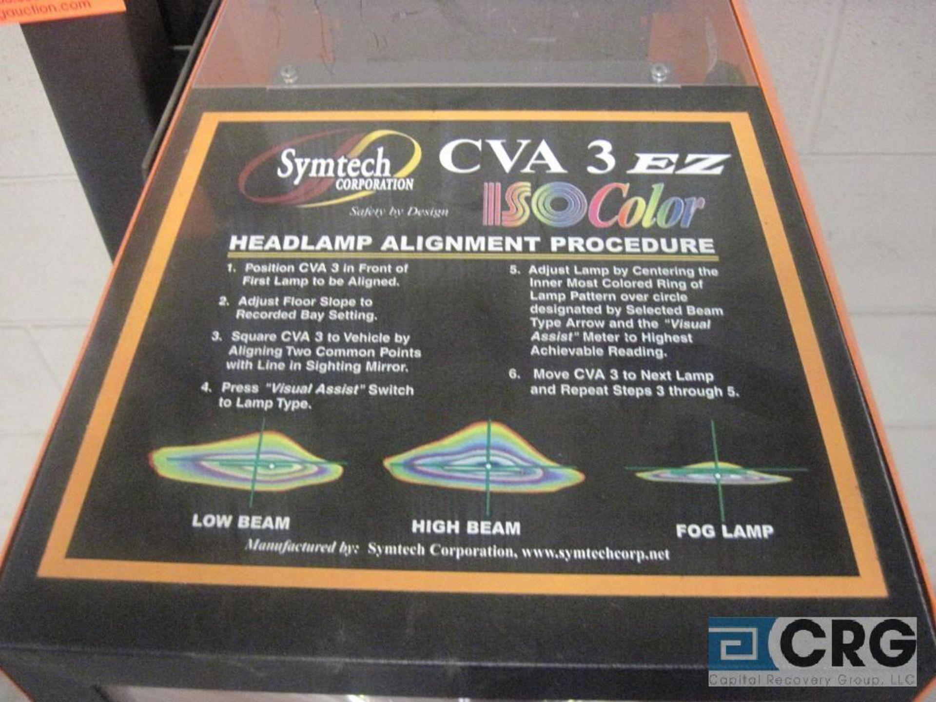 Symtech CVA 3E2 head lamp alignment system - Image 2 of 2