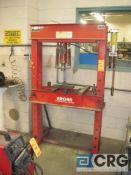 Arcan P50 hydraulic press, 50 ton cap., s/n 1495