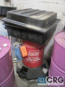 Lot of (2) assorted items including (1) Ammco 1450 brake washer, and (1) Graco pump