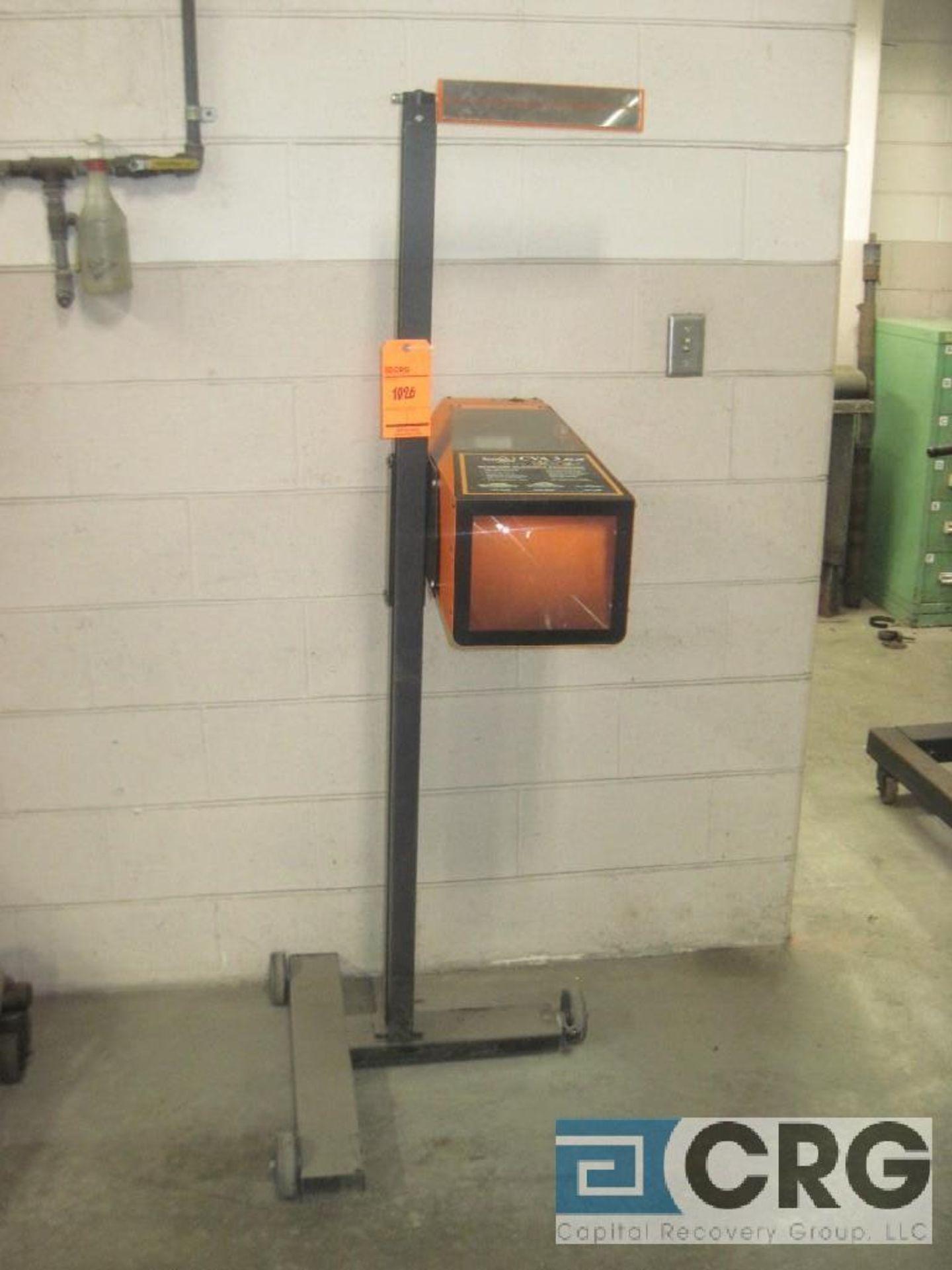 Symtech CVA 3E2 head lamp alignment system