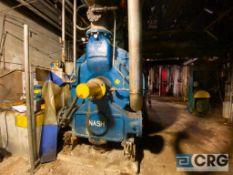 2014 Nash CL9002, 9,000 CFM vacuum pump, SN: 11523, (Location: Under PM1-wall)