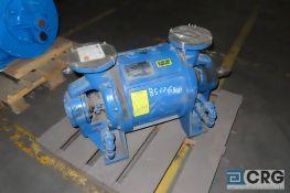 Nash CL402 pump-vacuum (rebuilt 2005) - Location: Finished Warehouse