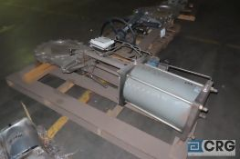 """Fabri-Valve FV-1336 18"""" knife valve with pneumatic actuator - Location: Finished Warehouse"""
