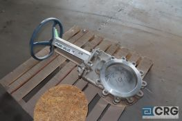 "Fabri-Valve 375 stainless, 10"" gate valve - Location: Finished Warehouse"
