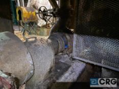 Goulds 4 X 6 316 stainless steel centrifugal pump with 150 HP drive, (Location: Alley between Vac
