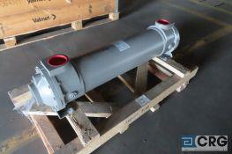 Standard Xchange BCF heat exchanger, shell and tube, copper tubes, s/n 298780-001 (never