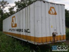 Fruehauf dry van trailer, 45 ft., VIN #HPX551001, Trailer #40-9 (Upper Wood Yard)