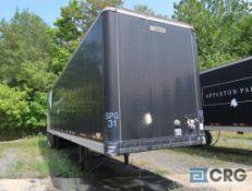1997 Manac dry van trailer, 45 ft., VIN #2M5921375V7044485, Trailer #31 (Lower Wood Yard)