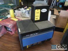 Nordson Series 3100V Vista TC hot melt gluer, s/n ES07K01508 (Loading Area)