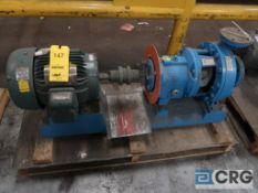 Goulds 3196 2 x 3 x 10 centrifugal pump with 7.5 HP motor, s/n N7414942 (Loading Area)
