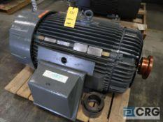 Reliance 200 HP motor, 460V, 3 Ph., 1191 RPM, Frame 449TS (Loading Area)