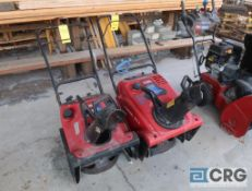 Lot of (2) Toro snow blowers, (1) 721R, and (1) CCR 2450 (Shop 1)