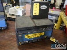 Nordson Micro Set multi-scan hot melt gluer, s/n L00049 (Loading Area)