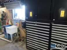 Lista 12 drawer parts cabinet, rivets, body clips, fittings, and electrical terminals(Maintenance