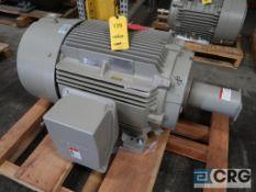 Siemans 125 HP motor, 460V, 3 Ph., 1185 RPM, Frame 445T (Loading Area)