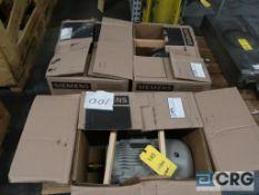 Lot of (3) Siemans 10 HP motors, 230/460V, 3 Ph., 1755 RPM, Frame 215T (Loading Area)
