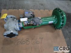 Fisher 667 pressure relief valve, size 45, operating range 6-30, s/n 8871798 (Loading Area)