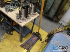 Lot of (2) Jet 10 ton hydraulic floor jacks (Rigging Equipment Shop)