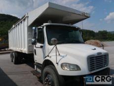 2006 Freightliner M2 dump truck, regular cab, 2WD, CAT Reman C7 Acert turbo engine, AT, diesel, 22