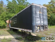 1990 Fruehauf dry van trailer, 45 ft., VIN #1H2V04520LB043602, Trailer #22 - BAD REAR DOORS (Lower