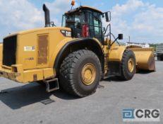 2011 Caterpillar 980H wheel loader, enclosed cab, CAT Acert Turbo engine model #C15, 140 in.