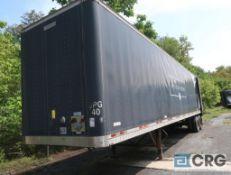 1999 Manac dry van trailer, 45 ft., VIN #2M5921376X1057560, Trailer #40, (Lower Wood Yard)