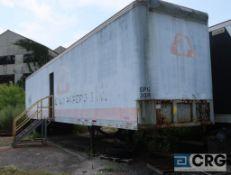 Fruehauf dry van trailer, 45 ft., VIN #1H2V04824KH011002, Trailer #30-B (Lower Wood Yard)