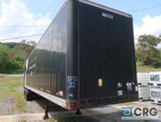 1997 Manac dry van trailer, 45 ft., VIN #2M5921377V7044486, Trailer #32 (Lower Wood Yard)