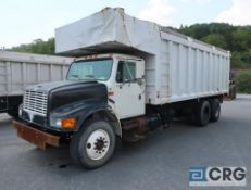 1998 International 4900 dump truck, regular cab, 2WD, International turbo engine, AT, 19,196