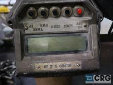 Porta Weigh digital hook scale, 10.000 x 2 lb. cap. (Rigging Equipment Shop)