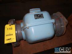 Foxboro 2806-SABB-TSAG 6 in. stainless flange magnetic flow meter, s/n 1521284 (Loading Area)