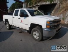 2016 Chevrolet 2500HD Silverado pickup truck