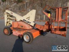 1994 JLG 35 Electric manlift, 500 lb. cap., platform height 35 ft., hort. length 20 ft., 48 volt,