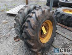 Dumper Power 12.5/80-18 tire on rim (Maintenance Shop)