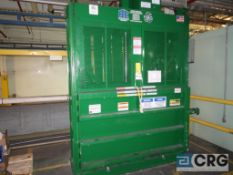 """PTR Hydraulic baler, (new 2020), s/n 204349, 72"""" x 30"""" compaction chamber (located at dry end PM3)"""