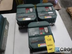 Lot of (3) Reliance GV3000/SE sensorless enhanced variable frequency drives, 10 HP (Loading Area)