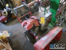 Troy Built gas powered snow blower (Maintenance Shop)