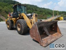 2013 Caterpillar 950K wheel loader, enclosed cab, CAT turbo engine, 15,944 hours, 112 in. Rockland
